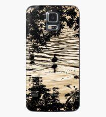 Ducks at Sunset - Golden ducks  Case/Skin for Samsung Galaxy