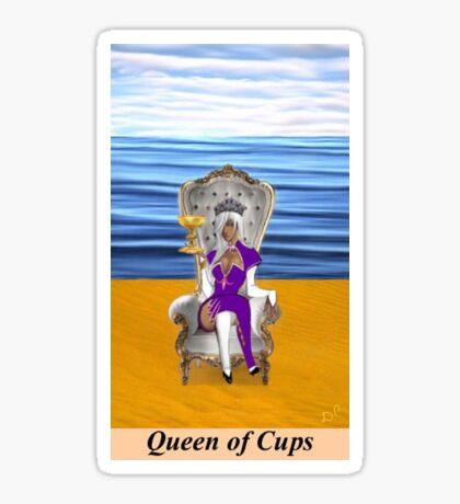 QUEEN OF CUPS Sticker