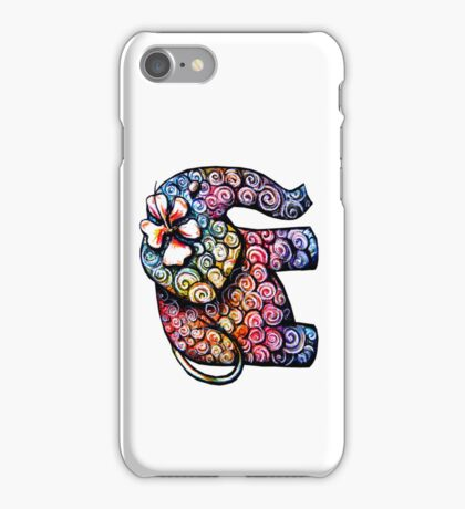 tattoo elephant iPhone Case iPhone Case/Skin