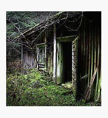 18.11.2015: Old Sauna Photographic Print