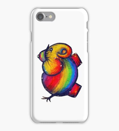 rainbow elephant iPhone case iPhone Case/Skin
