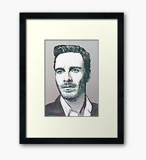 The Fassbender Framed Print