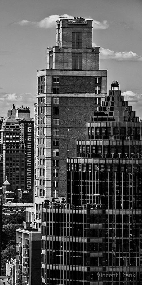 NYC Lines - NYC U.S.A. by Vincent Frank