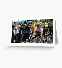 Stage Two- Tour of Britain  Greeting Card