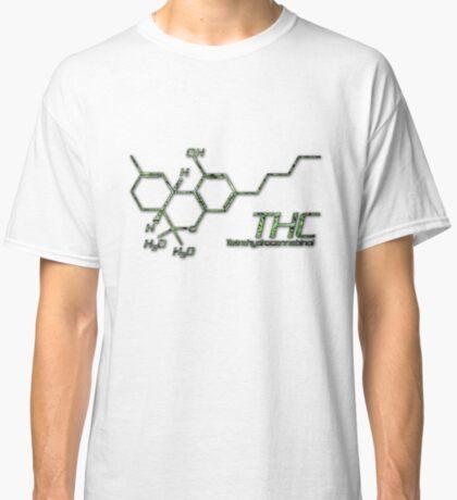 THC Molecule Classic T-Shirt