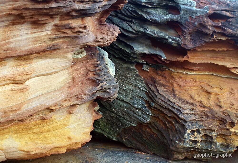 Sandstone patterns V by geophotographic
