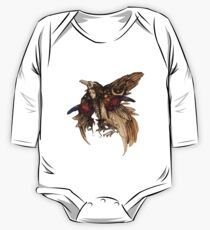 Magic Bird Long Sleeve Baby One-Piece