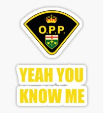 You down with OPP? Sticker
