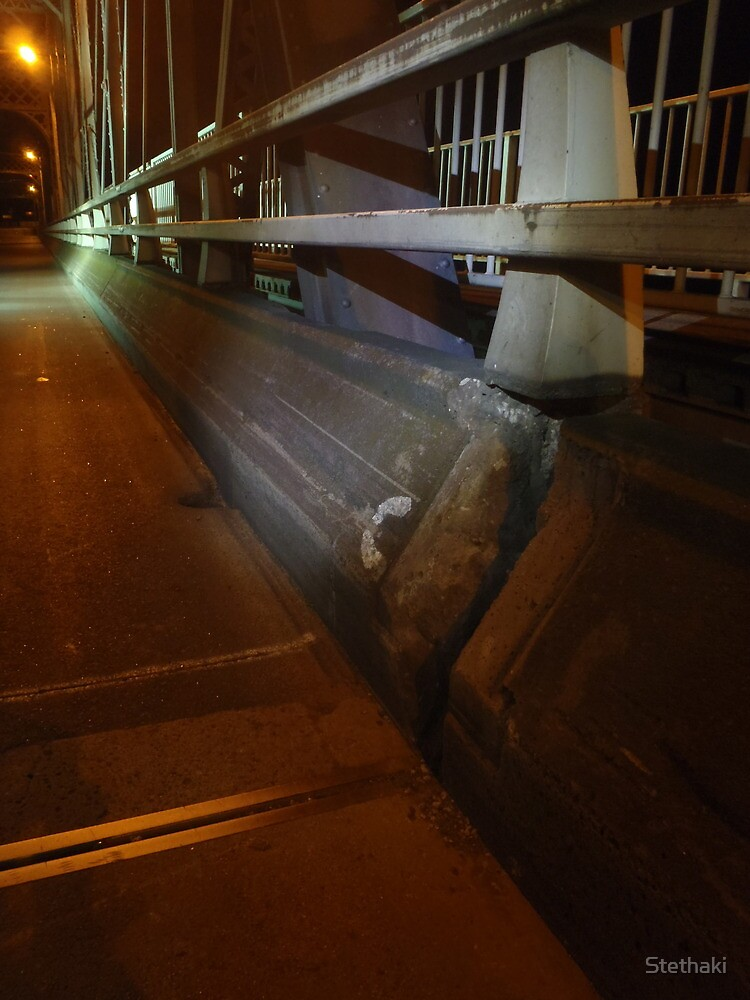 Nowra Bridge at Night 1 by Stethaki