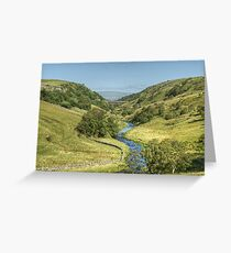 Smardale Gill Greeting Card
