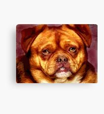Larry was a mutt Canvas Print