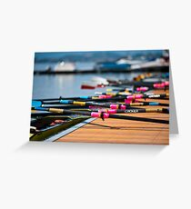 Rowing Greeting Card