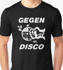 Gegen Disco (white print) T-Shirt