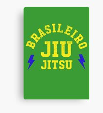BRASILEIRO JIU JITSU Canvas Print
