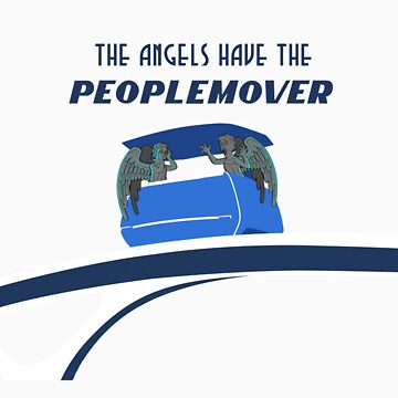 The Angels Have The PeopleMover by bamfer23