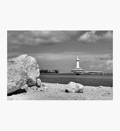 Coral Island in Nassau, The Bahamas Photographic Print