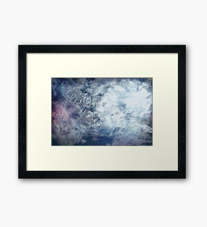 Sun And Moon Framed Print