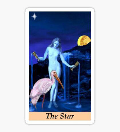 THE STAR Sticker