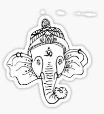 buddhist elephant  Sticker