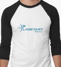 Planetary Society Logo Blue Men's Baseball ¾ T-Shirt