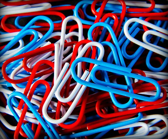 Paperclips by Paul Croxford