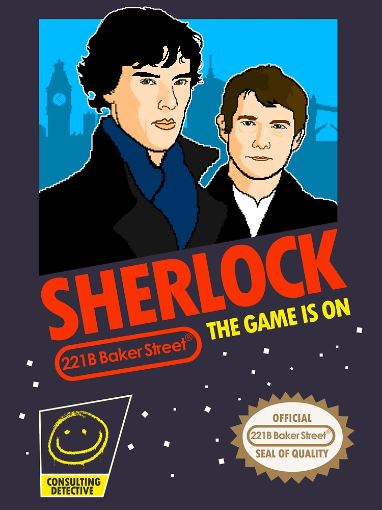 Sherlock NES Game by TomTrager