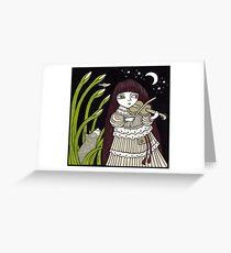 Fiddle Dee Dee Greeting Card