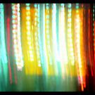 Blurred Lights # 15 by Nicole S. Moore