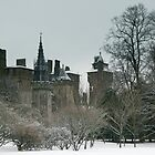 Cardiff Castle in the Snow by Hannah Welbourn
