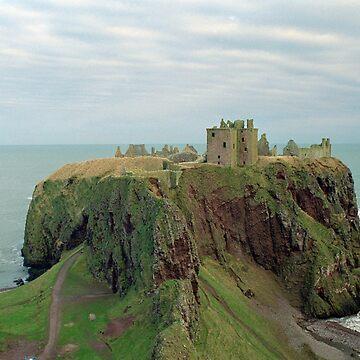 Dunnottar Castle one by goldyart