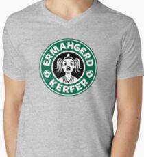 ERMAHGERD, KERFER! Men's V-Neck T-Shirt