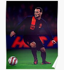 Wesley Sneijder painting Poster