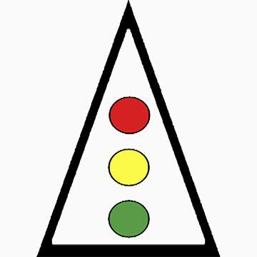 Traffic Light - T-Shirt by alsalman