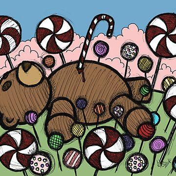 Teddy Bear and Bunny - Sugar Crash by bgilbert