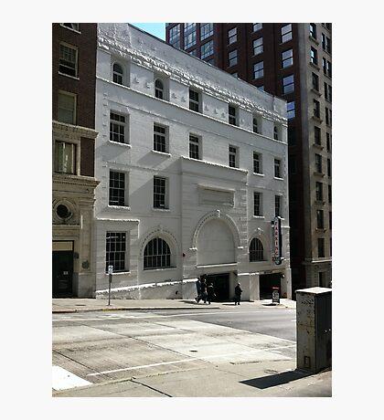 White brick Photographic Print