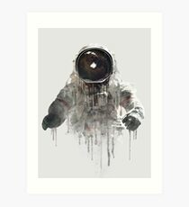 The Astronaut II Art Print