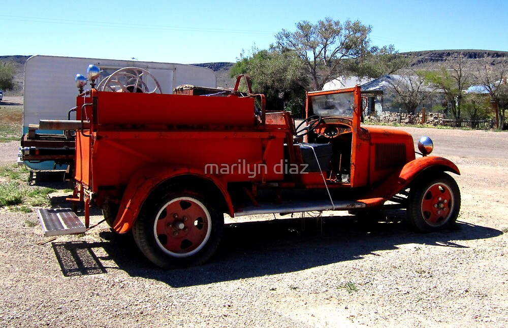 Fire Engine Red by marilyn diaz