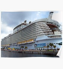 Allure of the Seas - Nassau, Bahamas  Poster