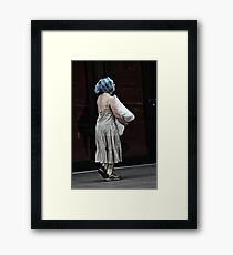 A NEW YORK BABOOSHKA Framed Print
