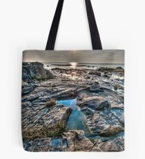 Sunset on the St. Lawrence River Tote Bag