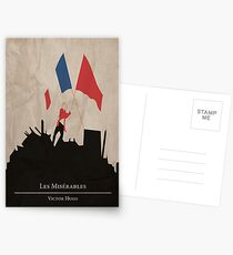 Les Miserable - Victor Hugo Postkarten