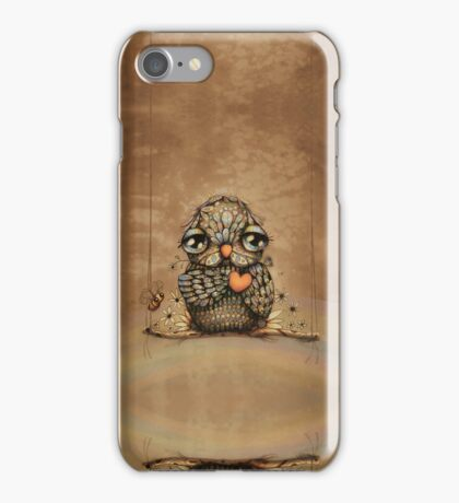 You're on my Heart Owl iPhone and iPod case iPhone Case/Skin
