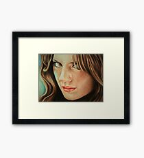 Kate Beckett Framed Print