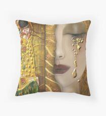 My Klimt Serie:Gold Throw Pillow