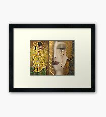 My Klimt Serie:Gold Framed Print