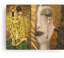 My Klimt Serie:Gold Canvas Print