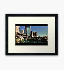 Circular Quay Indie scene Framed Print