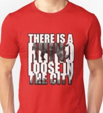 There Is A RHINO Loose In The City! T-Shirt