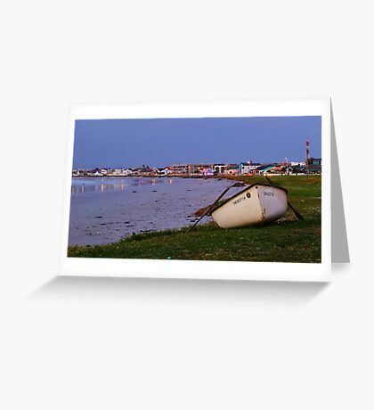 Swordfish Out Of Water Greeting Card