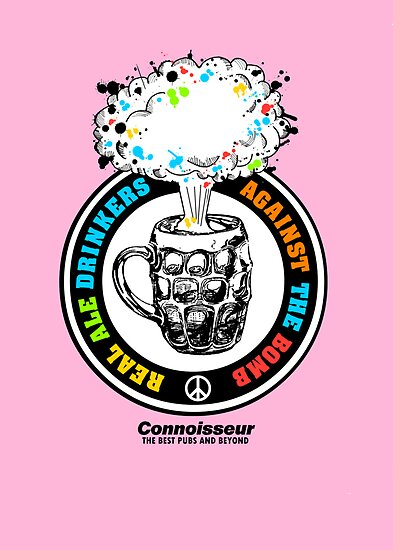REAL ALE DRINKERS AGAINST THE BOMB by casualco